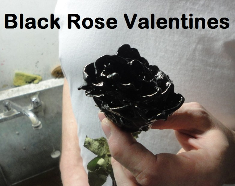 Black Roses, Valentines Day