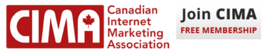 CIMA, Canadian Internet Marketing Association, logo2, Join CIMA