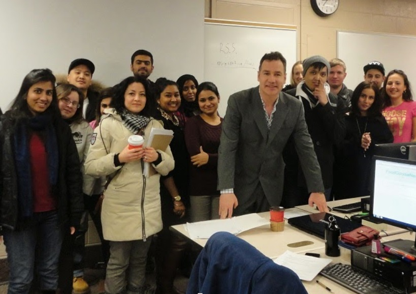 Rob Campbell teaches internet marketing at Humber College